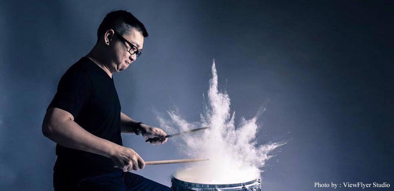 """พาไปคุยกับ """"พี่หนึ่ง Mr.Drummer"""" ไอดอลของนักดนตรี"""