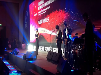 A thousand year @ Huawei's gala dinner