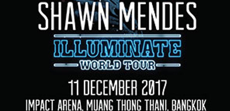 """""""Illuminate World Tour"""" คอนเสิร์ตครั้งแรกในไทยของ""""ชอว์น เมนเดส"""""""