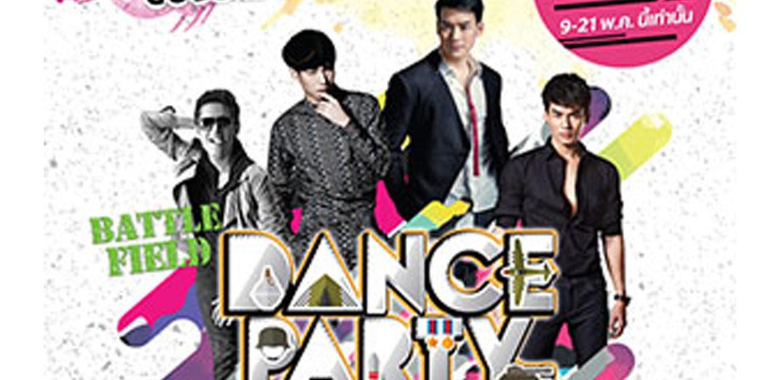 """สมรภูมิของราชาเพลงแดนซ์ของไทย""""Battle Field Dance Party"""""""