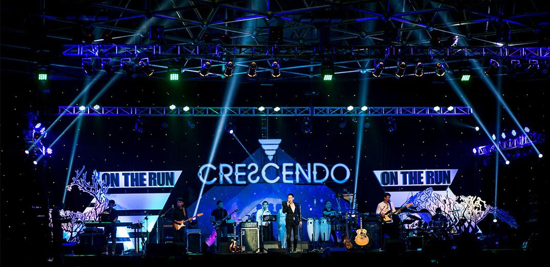 """สนุก สุข ซึ้ง ครบรสกับ """"Crescendo On The Run"""""""