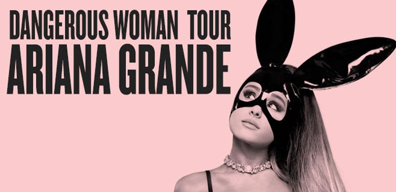 """กรี๊ดให้สุดเสียง """"Dangerous Woman Tour"""""""