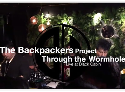 Through the wormhole [ live at Black Cabin ]