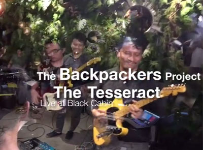 The Tesseract [ live at Black Cabin ]