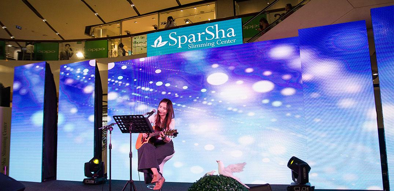 ฉลองครบรอบ 15 ปี SparSha Slimming Center @เซ็นทรัลลาดพร้าว