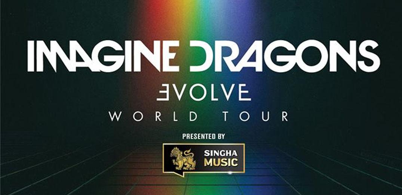 Imagine Dragons Evolve World Tour Live in Bangkok