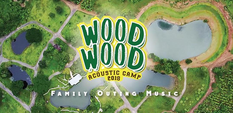 """คอนเสิร์ตเดียวแต่กิจกรรมเพียบ ! """"WOOD WOOD Acoustic Camp 2018"""""""