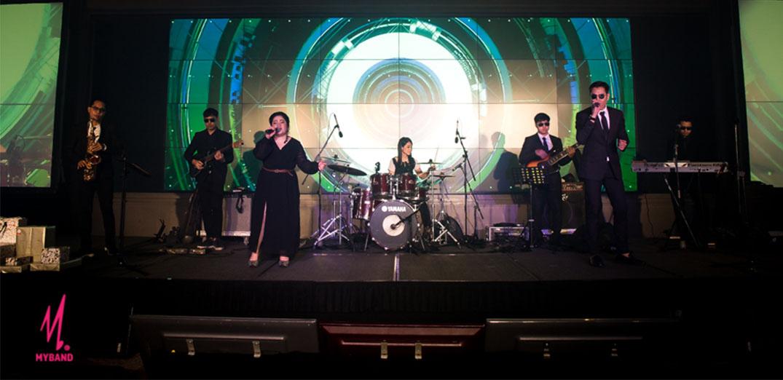Rhythm Nation Band วงดนตรีงานเลี้ยง บริษัท ไมซ์ ดีโป(ประเทศไทย) จำกัด
