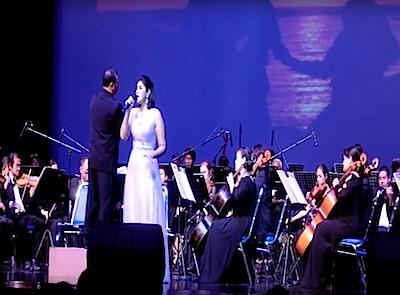 วงดนตรีงานเลี้ยง : Broadway is concert จากกรมศิลปากร memory song from cat