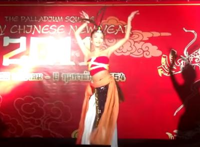 การแสดงงานอีเวนต์ : ระบำนกจีน