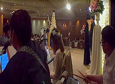 วงดนตรีงานแต่ง : ฉันดีใจที่มีเธอ
