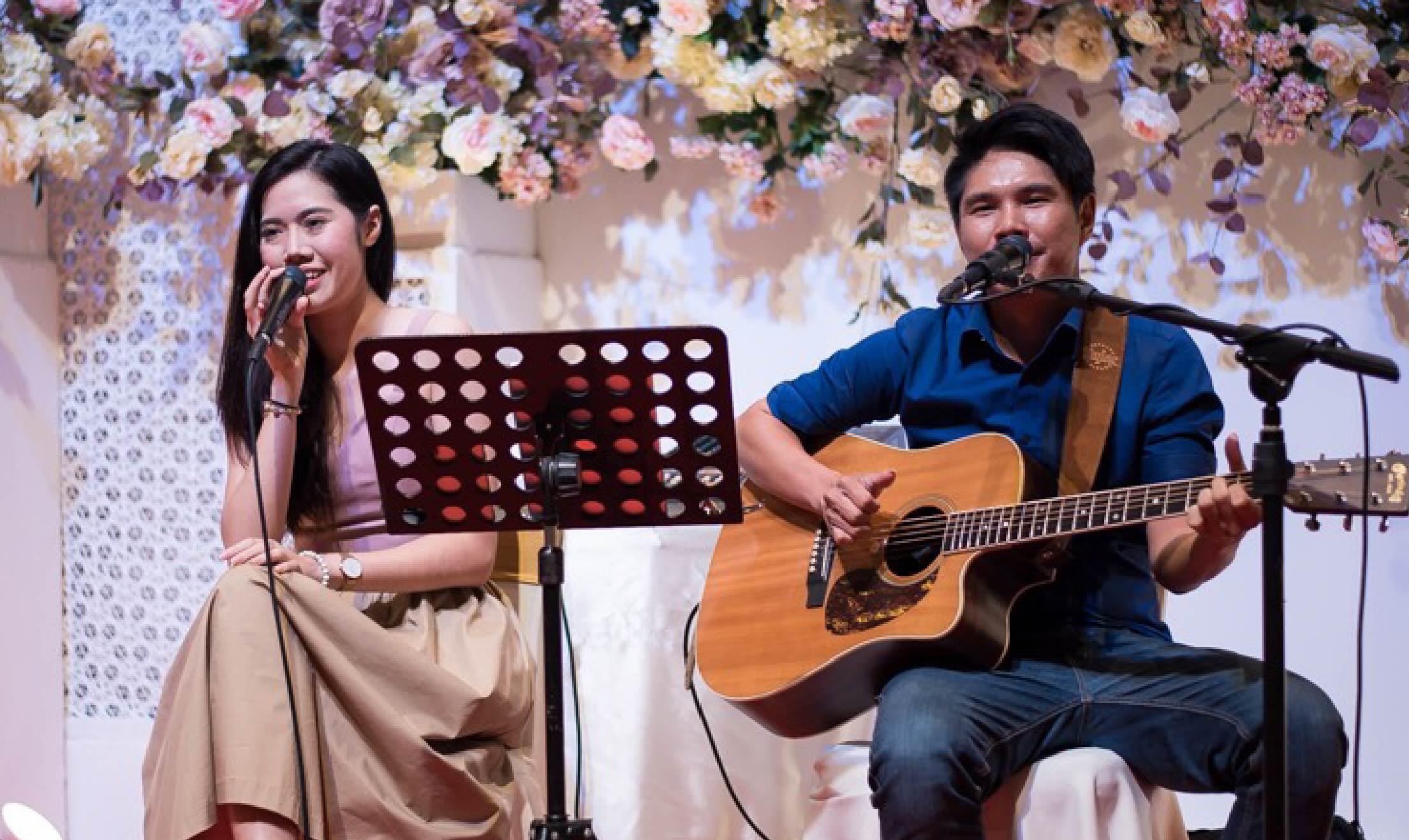 Yogi band วงดนตรีงานแต่งงานที่The Banquet Hall at Nathong