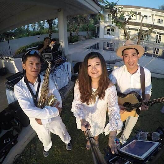 The ocean blue Phuket band