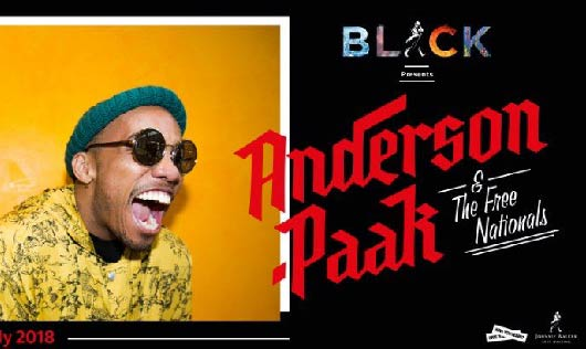 ดีงามที่สุดกับ Johnnie Walker presents Anderson .Paak & The Free Nationals