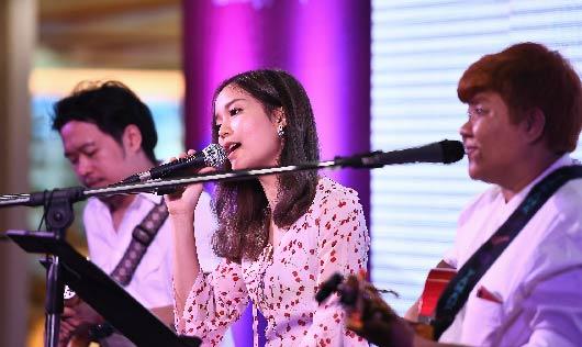 meaw band วงดนตรีงานอีเว้นท์งาน Smart StartUp 2018 #Day2