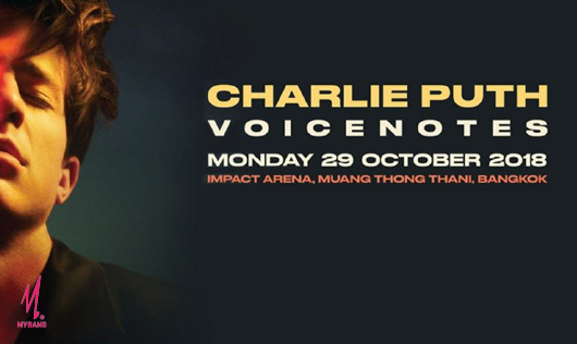 CHARLIE PUTH VOICENOTES WORLD TOUR 2018 LIVE IN BANGKOK