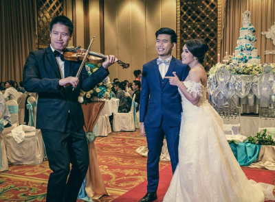 วงดนตรีงานแต่ง - Violin bk