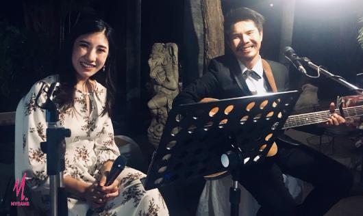 """สร้างความสุขกับ วงดนตรีงานแต่ง """"YogiBand"""" @Bankampu Tropical Callery"""