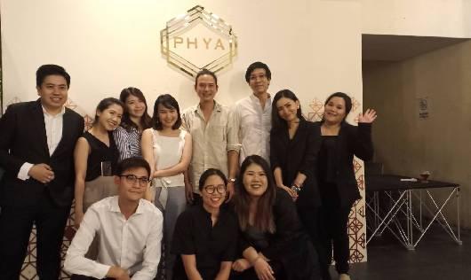จั๊ก ชวินและปิงปอง ศิรศักดิ์ มอบความสุขในงาน Thank you party ลูกค้าแบรนด์ PHYA