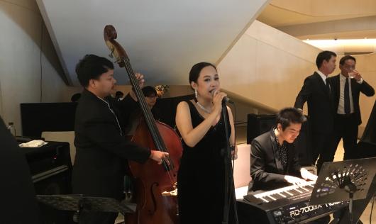 Spring Feel จัดเต็มขนทัพบรรเลงบทเพลง Jazz ในงานเลี้ยงบริษัท Peugeot Thailand