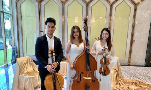 String Trio กับการบรรเลงบทเพลงไพเราะในงานอีเวนท์ ณ  Suvarnaga Gems