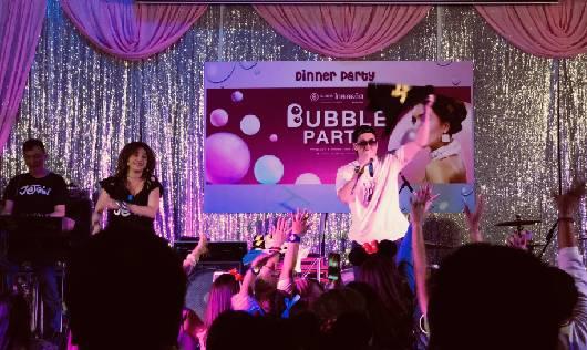 เจ เจตริน มอบความสนุกสุดพิเศษในงาน Bubble Party บริษัทธนาคารไทยเครดิต