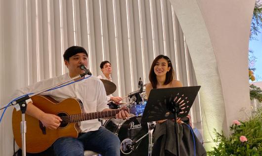 วงดนตรีงานแต่ง Innae ร่วมมอบความสุขให้คู่บ่าวสาวในงานแต่งงาน