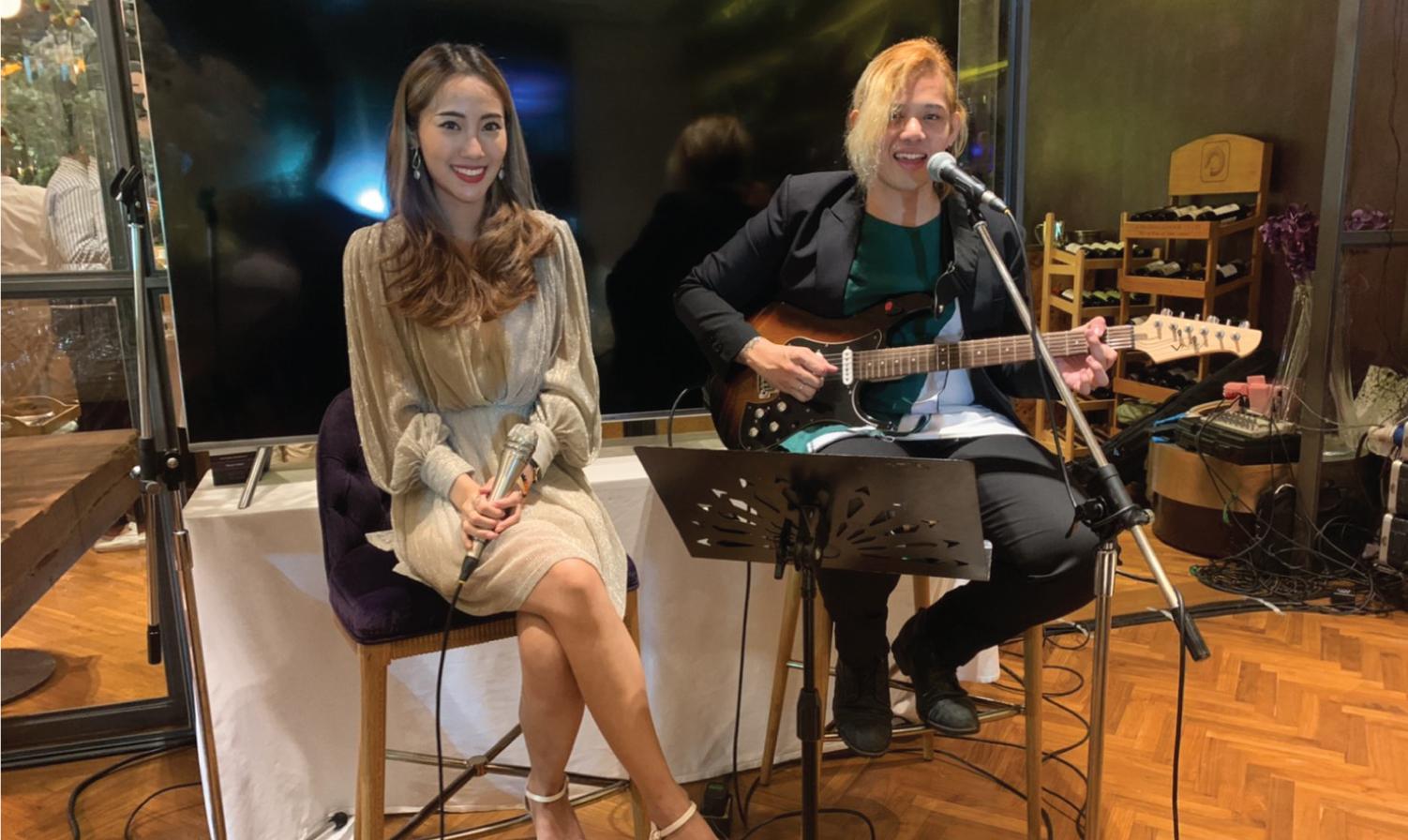 วงดนตรีงานเลี้ยง Aoey มอบความสุขในงาน KBANK KAsset Press Conference